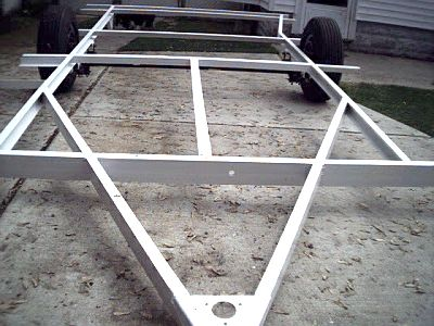 how to build aluminum frame travel trailer